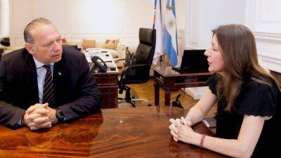"""Sergio Berni: """"Le pedí a la ministra Frederic que me dé todas las pistolas Taser que compró y no va a usar"""""""