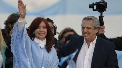 Alberto y Cristina asistirían al acto del 17 de octubre del PJ