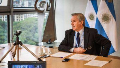 La cancillería desautorizó a Raimundi y aclaró que mantienen la condena a Maduro en la ONU
