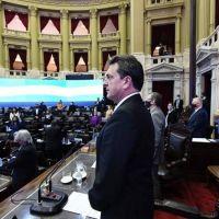 Massa se distancia del proyecto oficial que busca modificar el reglamento para incorporar las sesiones virtuales