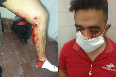 Reprimen a balazos a choferes de colectivos en La Rioja