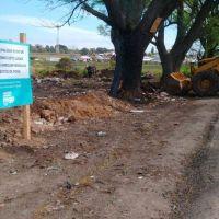 El Municipio retiró 90 toneladas de residuos de un micro basural a cielo abierto en Batán