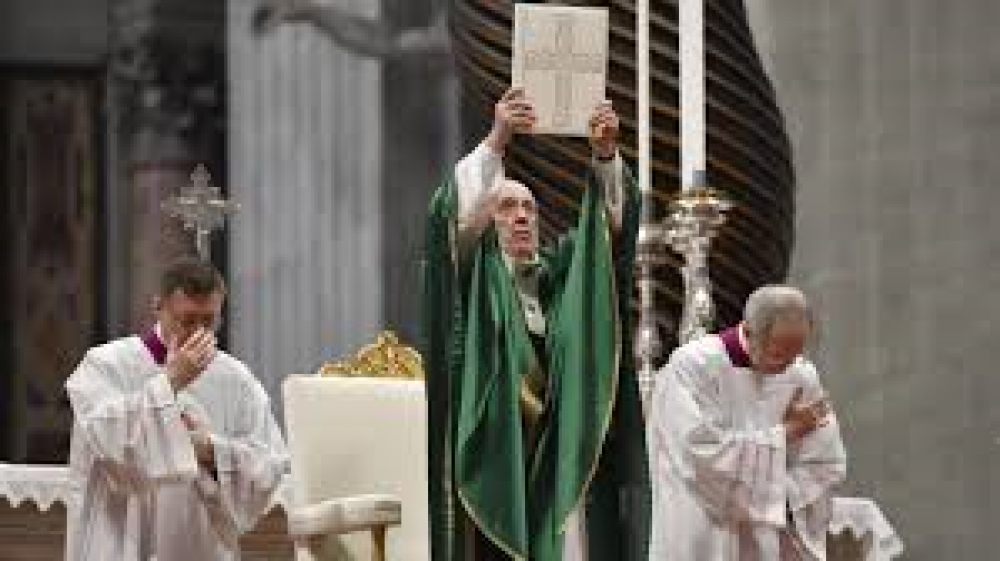 Nueva carta apostólica busca fomentar el amor por la Biblia
