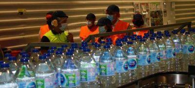 ODS12. Olga García visita la planta embotelladora de Nestlé en Badajoz
