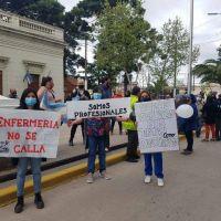 Personal de enfermería del hospital de San Vicente vuelve a protestar