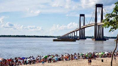 Este jueves, Corrientes habilitó los turnos para ir a las playa