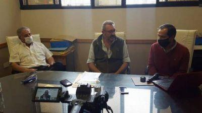Rossi anunció obra de cordón cuneta para 9 calles de Progreso