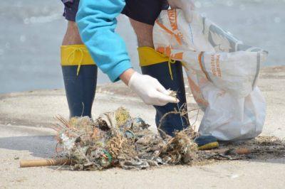 Limpieza de playas. Más del 80% de la basura recolectada en la costa bonaerense es plástica