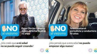 Día Internacional de las Personas Mayores: PAMI y la Defensoría del Público lanzan la campaña
