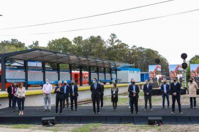 Sasia participó de la inauguración de la renovación de la Estación Torcuato – Línea Belgrano Norte