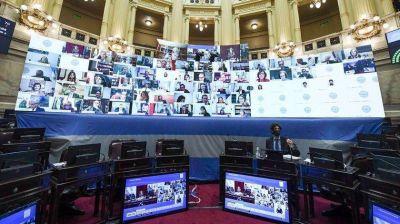 Con acuerdo por las sesiones virtuales, el Senado debate la quita de coparticipación a la Ciudad de Buenos Aires