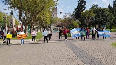 Enfermeros Autoconvocados volvió a manifestarse