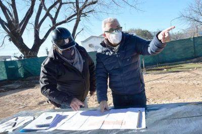 Con fondos municipales, Tigre avanza con obras de gas, veredas y seguridad en más localidades