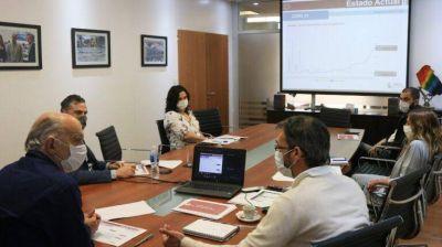 Coronavirus en Lanús: Grindetti analizó con el área de salud el avance de la pandemia