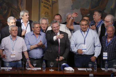 La CGT sale al rescate de Alberto Fernández