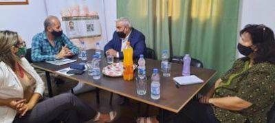 Reunión de la UATRE y el RENATRE con funcionarios del Ministerio de Trabajo de la Nación y la Provincia en Catamarca