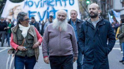 El Movimiento Evita suma espalda política