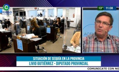 """""""En 10 años perdimos más de 500 mil has de monte nativo en Chaco"""", advirtió el diputado Gutiérrez"""