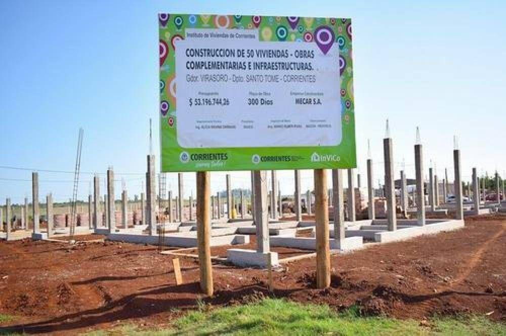 Inversión habitacional en el interior correntino