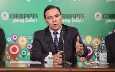 Corrientes: Gustavo Valdés confirmó cuándo se darán los detalles del aumento salarial