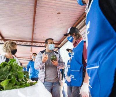 Herrera Ahuad inauguró un nuevo Mercado de Soberanía Alimentaria en Mártires