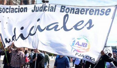 AJB: Judiciales Bonaerenses paran hoy en defensa del salario