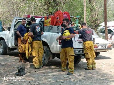 La Provincia coordina ayuda social para zonas afectadas por los incendios