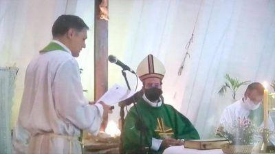 El Padre Alzueta asumió al frente de la parroquia San Juan Bautista
