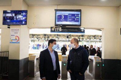 Instalan una cámara termográfica en la estación de Lomas de Zamora