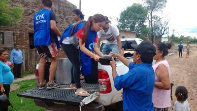 La Cámpora organizó una jornada de trabajo y pintura con ayuda de niños y estallaron críticas en redes sociales