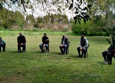 Berazategui: Reunión con funcionarios y vecinos de El Pato
