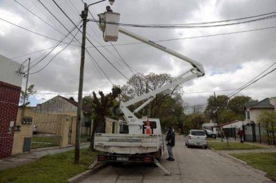 El municipio de Alte. Brown avanza con la instalación de miles de luces led