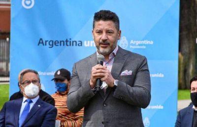 """Gustavo Menéndez considera """"natural"""" que Alberto Fernández asuma la presidencia del PJ"""