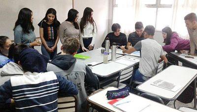 Vuelven las clases presenciales al Colegio de la UNLPam