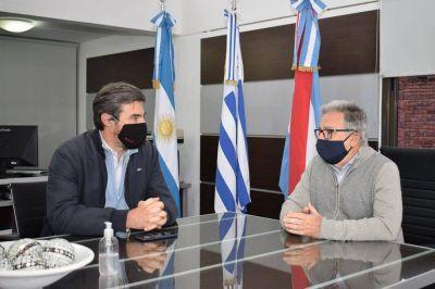 """Giano: """"Comparto que CTM y Cafesg trabajen juntas para el desarrollo de Concordia y la Región"""""""