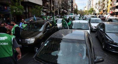 ATE se sumó al paro nacional y también protestó en Córdoba