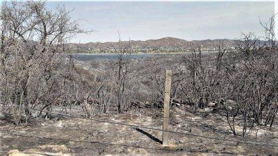 Carlos Paz prohibirá la urbanización de las tierras arrasadas por los incendios
