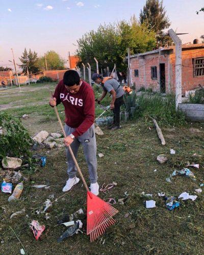 Ingeniero Budge: vecinos se organizan para remodelar y cuidar el barrio