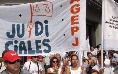 Córdoba: Gremios judiciales convocan a un paro de 24 horas