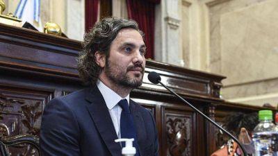 Ante el Congreso, Cafiero dice que Argentina vive una
