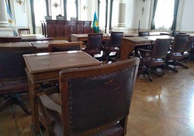 El Concejo suspendió las actividades presenciales por 14 días
