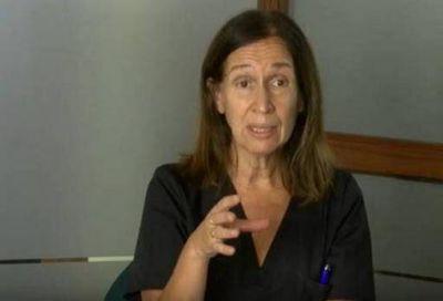 Giordano pidió que los casos positivos se aíslen de sus familiares