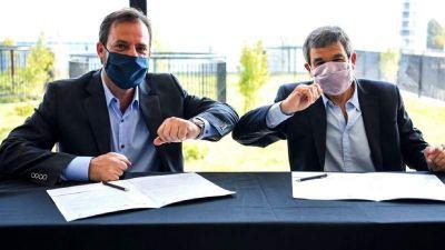 Municipio firmó un convenio con Ministerio de Ciencia, Tecnología e Innovación de la Nación para fortalecer el programa Escobar Sostenible