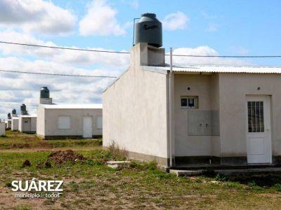 Cnel. Suárez: anunciaron la entrega de 50 viviendas de Techo Digno y la construcción de la sede de Creus