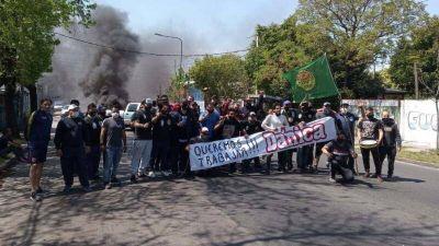 Crisis en la planta Dánica de Llavallol: trabajadores realizaron un corte y lanzan plan de lucha