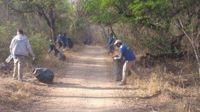 San Pedro: sacaron más de 50 bolsas de basura