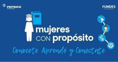 """PepsiCo lanza una nueva edición de """"Mujeres con Propósito"""""""