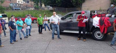 Honduras: STIBYS movilizado