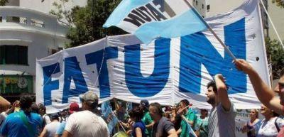 """La FATUN aceptó un 7% de aumento como """"una muestra más de solidaridad con los que menos tienen"""""""