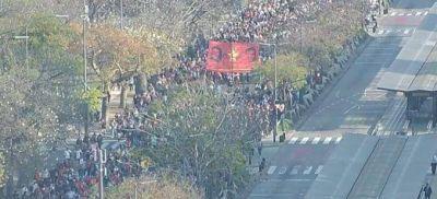 Marcha de organizaciones sociales amenaza con acampar frente al Ministerio de Desarrollo Social